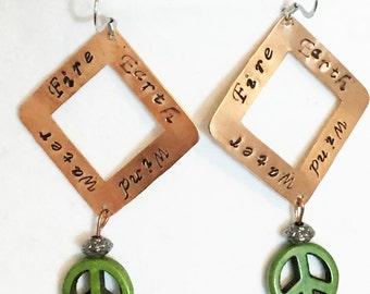 Four Elements Earrings
