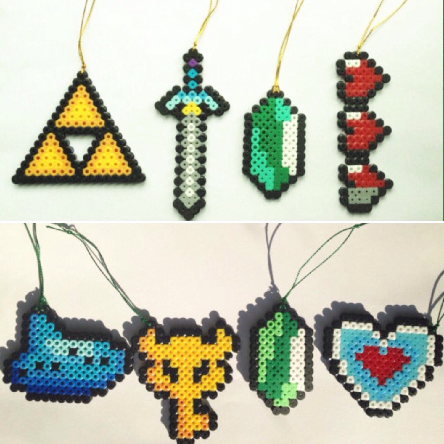 Legend of zelda tree decorations choose your set by for Decoration zelda