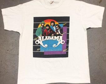 Vintage Deadstock 1986 Alabama Tshirt