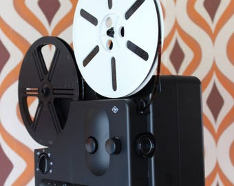 Agfa Sonnector LS vintage retro Super 8 8mm sound cine movie film projector mod Kodak 1980s