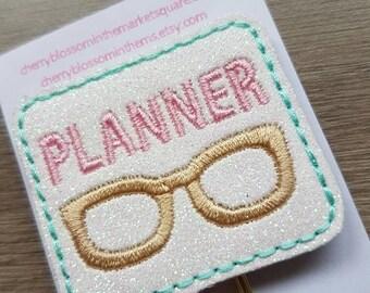 Planner Nerd Geek Glasses Paper Clip