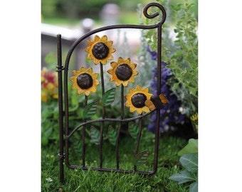 Fairy Garden  - Sunflower Gate - Miniature
