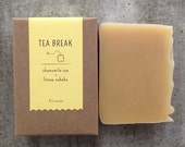 Tea Break | Chamomile Tea and Litsea Cubeba Soap | All Natural Soap | Handmade Soap