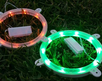 LED corn hole lights (set of 2 - 6 colors available)