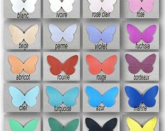 "Wings Butterfly silk United 5 cm ""Apolline"""