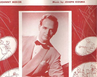 Autumn Leaves (1950) Roger Williams, Johnny Mercer & Joseph Kosma sheet music