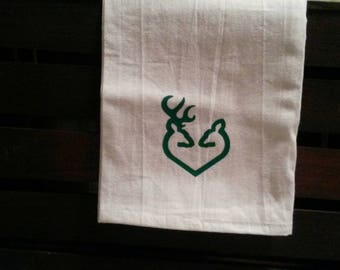 Buck and Doe Towel