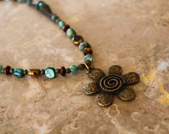 Flower Power Necklace!