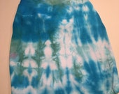 Large   Blues on the mall tye dye pet shirt size large up to 18lbs DSL-10
