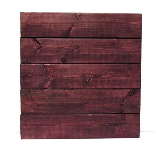 Purple Wood Stain: Modern Rustic Royal Plum Purple Wood Sign Blank By My Rustic
