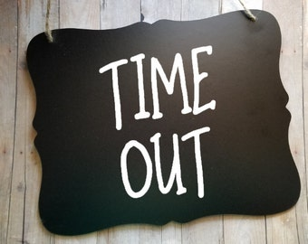 Time Out Sign - Toddler Time Out Spot - Time Out Spot - Vinyl Sign