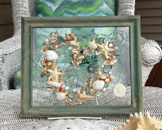 Art for Beach Wedding Gift, Valentines Day Decor, Valentine Gift ...