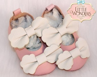 Baby Soft Sole Blush Pink Mary Jane Flats