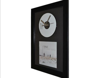 Travis - The Man Who - CD and Art Clock