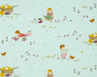 Posy Meadow in Forget Me Not by Aneela Hoey for Moda Fat Quarter OOP & VHTF