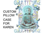 CUSTOM MADE Buddha Pillow Case