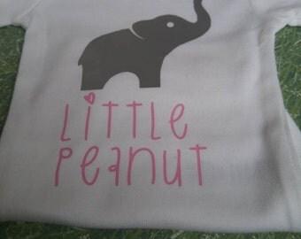 Little Peanut Onesie. Babyshower Gift.