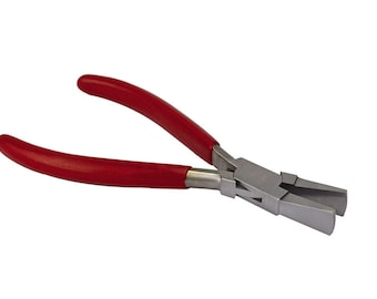 "6-1/2"" Wide Jaw  Duck Billed Pliers Jewelry Making Wire Forming Pliers - PLR-0065"