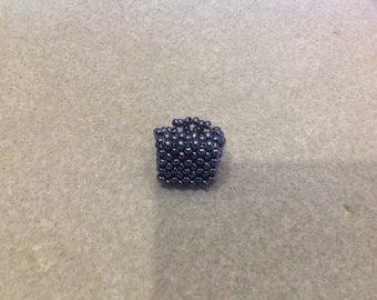 Seed bead rings