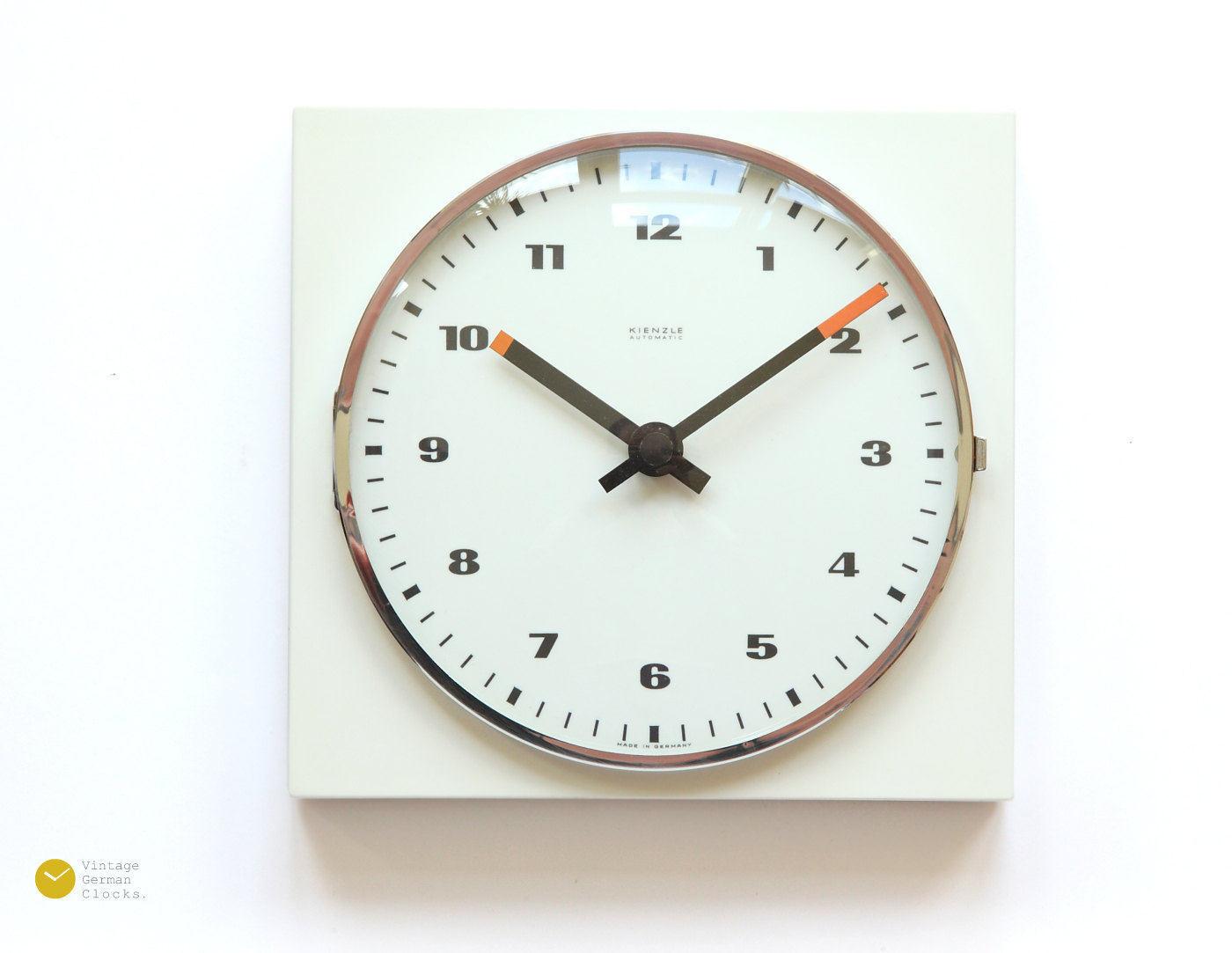 space age kienzle wall clock bauhaus panton minimal modern