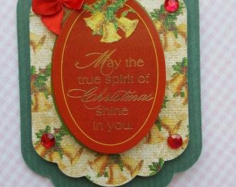 The true spirit of Christmas ... Christmas ornament