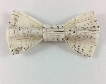 Sheet Music Cat Bow tie, Cat tie, Cat Bow tie collar