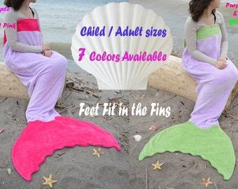 Mermaid tail blanket, easter gift, mermaid tail blanket adult, Mermaid tail blanket Kids, sleeping bag, Child mermaid blanket