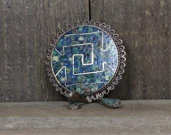 Estate,  Sterling Silver Mexico Pin