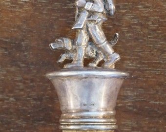 German Figural Stopper