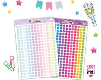 HP 031) --Mini Dots planner stickers