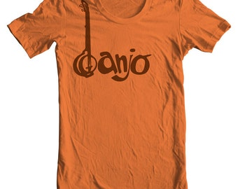 Banjo T shirt Banjo Musical Instrument Shirt Guitar Shirt Banjo Player Shirt Bluegrass Band Folk Music Festival Banjo Picker Plucking