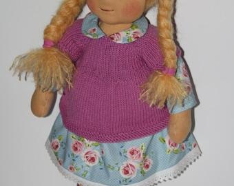 """Rag doll """"Birte"""", approx. 50 cm"""