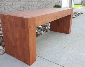 Custom Modern Bench | Indoor | Outdoor