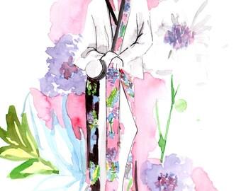 DVF Spring 2017 Fine Art Print