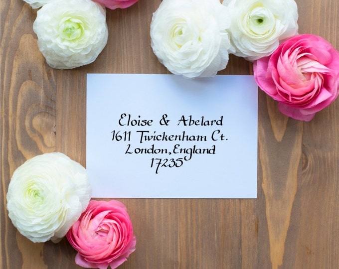 Hand-Addressed Calligraphy Invitation - Antiscians - Wedding - Birthday - Event - Affordable