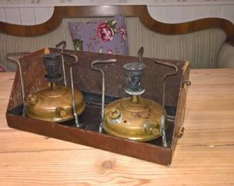 Vintage stove SVEA 106 kerosene stove Primus stove antique stove camping stove camping gear toolbox vintage toolbox hiking stove