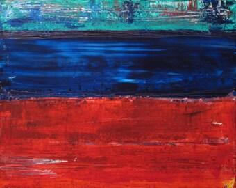 "12""x16"" Original Acrylic Abstract Painting"