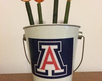 University Of Arizona Wildcats Basketball Pen Pot