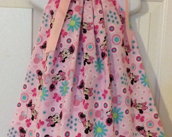 Minnie Mouse Pillowcase Dress Size 12M