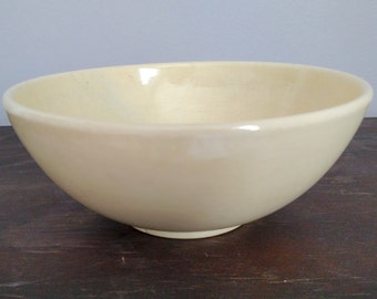 Red Wing Bowl - Red Wing Yellow Bowl, Pottery