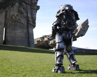 X-01 Power Armor Fallout inspired