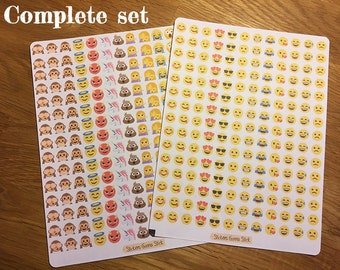 360 Emoji Stickers   Choose your combination!   Ideal for planners, scrapbooks, journals, calendars