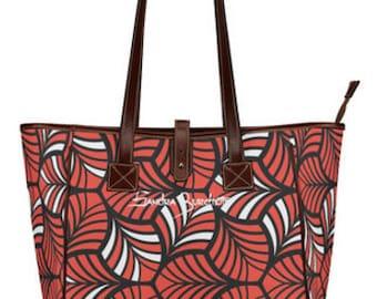 Sandra Burchette Signature Large Leather Tote Bag ~ RBW Summer
