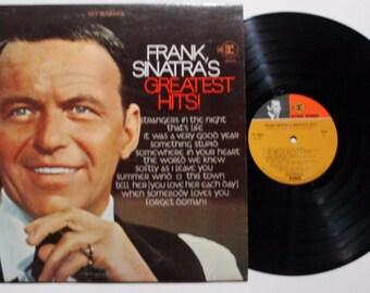 "Frank Sinatra's ""Greatest Hits"" Excellent Condition Original Vinyl Record LP Original - Not a Modern Reissue"