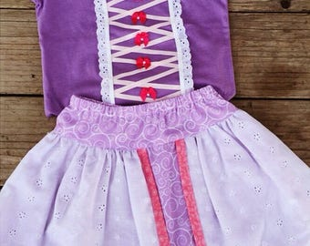 Rapunzel Skirt Set