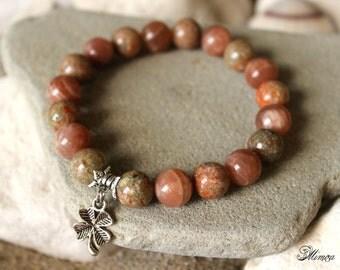 Moonstone Bracelet, Unakite Bracelet, Fertility Bracelet, Conceive Jewelry, Conceive Bracelet, Healing Bracelet, Pregnancy, Childbirth