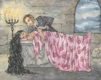 ORIGINAL ARTWORK: Sleeping Beauty