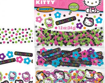 Hello Kitty ''Tween'' Paper Confetti Value Pack (3 types)