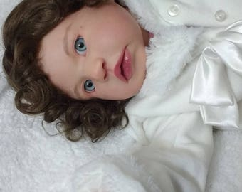 "Reborn Toddler Painted Kit ONLY Custom Made to Order OOAK Doll 25"" and up"