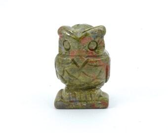 Unakite Owl